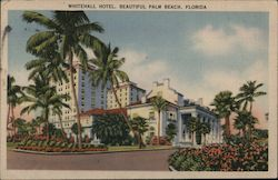 Whitehall Hotel. Beautiful Palm Beach, Florida