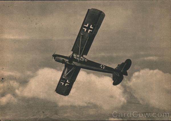 Luftwaffe, Air Force Observation Plane, Stork Nazi Germany