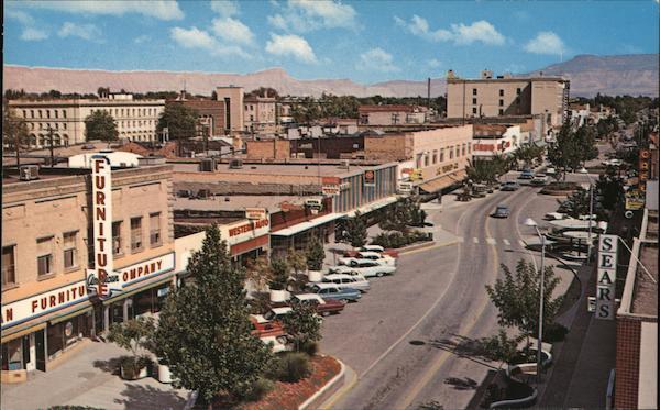 View Eastward Along Main Street Grand Junction, CO