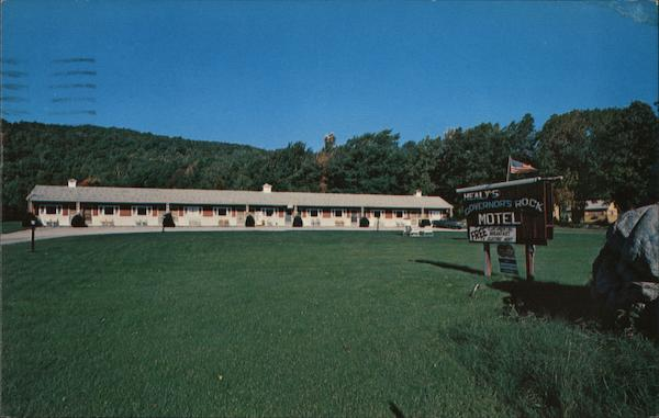 Healy's Governors Rock Motel Shaftsbury Vermont