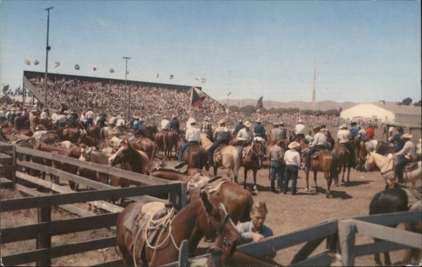 Elks' Annual Rodeo Santa Maria California