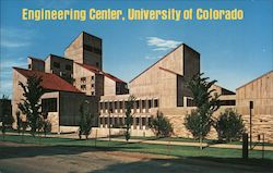 Engineering Center, University of Colorado Postcard