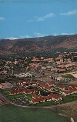 Aerial View, University of Colorado Campus Postcard
