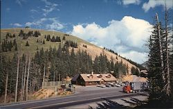 Monarch Pass - Continental Divide Postcard