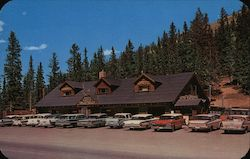 Monarch Crest House - Pass Summit on Highway 50 Postcard