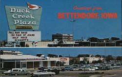 Duck Creek Plaza Postcard