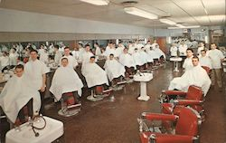 "Tri-City Barber School 218 North 8th Street ""A Good Trade to Have"""