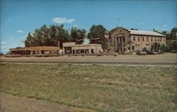 Farson Wyoming - U.S. Post Office Postcard