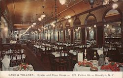 Gage & Tollner, Oyster and Chop House