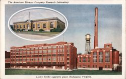 Lucky Strike - American Tobacco Company Research Postcard