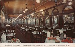Gage & Tollner, Oyster and Chop House - Est. 1879