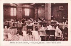 Boone's Restaurant, Main Dining Room