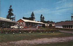 White House Lodge, Motel and Restaurant Postcard