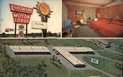 Landmark Motor Lodge Postcard
