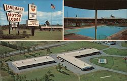Friendship Inn, Landmark Motor Lodge Postcard
