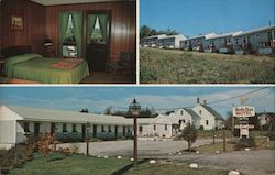 North Star Motel & Coffee Shop Postcard