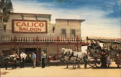 The Calico Saloon - Ghost Town