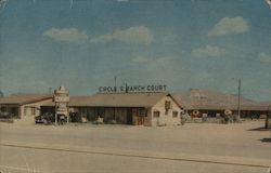 "Circle ""S"" Ranch Court Postcard"