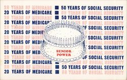 20 Years of Medicare -- 50 Years of Social Security