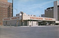 The New Continental Trailways Bus Depot