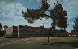Wickson Hall on the Davis Campus of the University of California Postcard