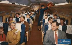 American Airlines DC-7 Main Cabin
