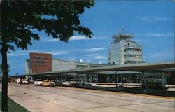 General Mitchell Field Air Terminal Postcard