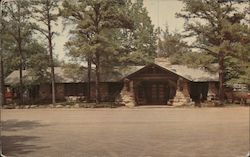 Superintendent's Office and Store - Petit Jean State Park Postcard