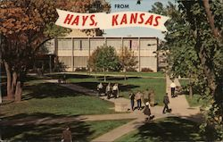 Greetings From Hays, Kansas Postcard