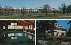 Red Jacket Mountain View Motor Inn Postcard