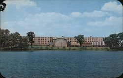 Moreau Seminary, Twin Lakes, University of Notre Dame Postcard