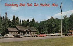 Gooseberry State Park Refrectory Postcard