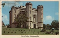 The Old State Capitol Building - Baton Rouge, Louisiana