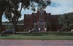 Theater Building, Veterans Administration Center Postcard