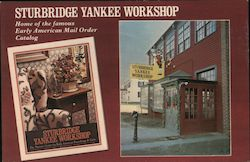Sturbridge Yankee Workshop Postcard
