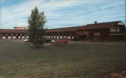 South Portland Manor Inn Postcard