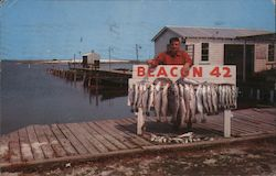 Ed McCormick's Beacon 42 Fishing Camp Postcard