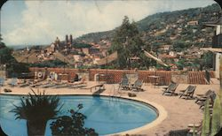 Panoramic View of Taxco from the Hotel de la Borda Postcard