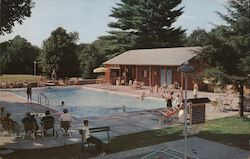 The Swimming Pool, The Northfield Hotel Postcard