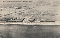 Air View Hammonasset Beach Postcard