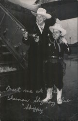 "Hopalong Cassidy and his pal ""skipalong Tattler"""