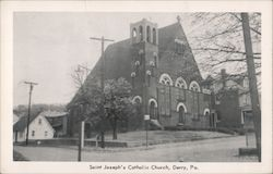 Saint Joseph's Catholic Church Postcard