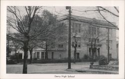 Derry High School Postcard