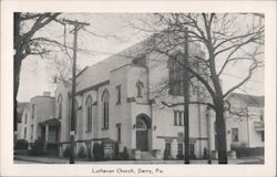 Lutheran Church Postcard