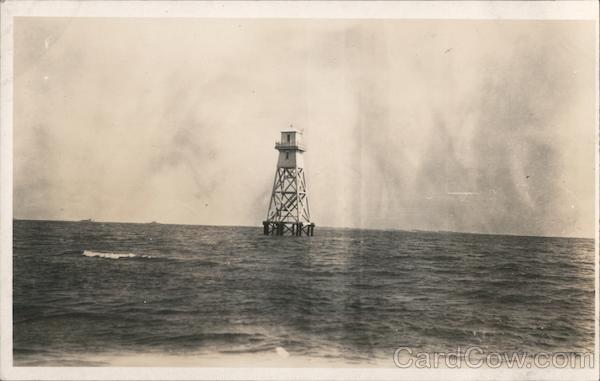 Lighthouse in Bay South Carolina Lighthouses