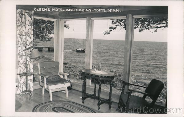 Olsen's Motel and Cabins Tofte Minnesota