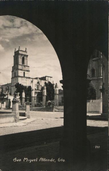 Buildings In San Miguel Allende In Guanajuato Mexico