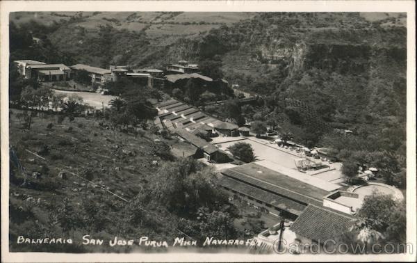 Balneario San Jose Purua Michoacán Mexico