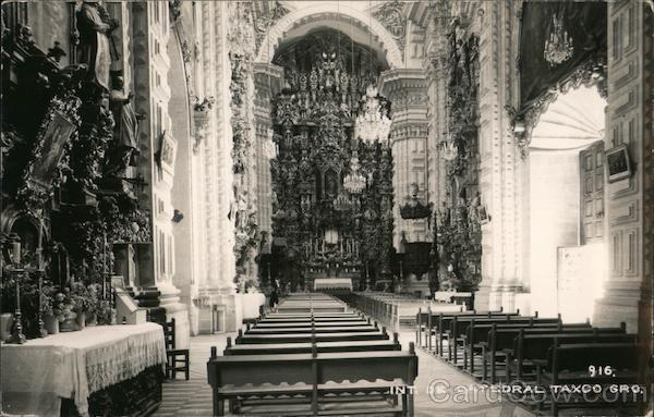 Int de Catedral Taxco Mexico