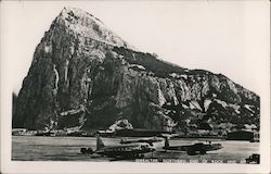 Rock of Gibraltar and Airport